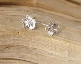 Buttercup Studs - Sterling Silver