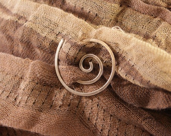 Aluminum Shawl Pin, Scarf Pin in light weight Aluminum, Fun and Functional