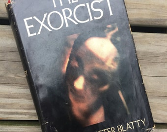 Vintage 1971 The Exorcist hardcover book
