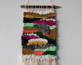 Death Valley Sunset | Handmade One of a Kind Weaving by Jackie Dives