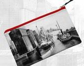 Buffalo River 1901 (Buffalo, NY)—Pouch, Wallet, Wristlet, Coin Purse, Zipper Bag, Clutch, Pencil Case, Makeup Bag
