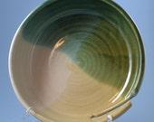 Hand thrown yarn bowl of stoneware