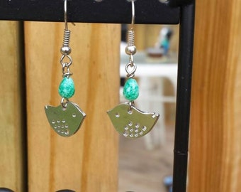 Sweet little bird earrings