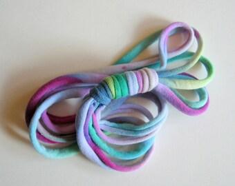 Twilight Tie Dye LOOPS HeadBand - Ponytail Holder - Choker - Wrist Wrap Bracelet Multi-Purpose Accessory