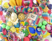 Craft Jewelry - Over 1 Pound - Multiple Projects - Mardi Gras Magic