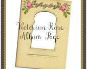 Victorian Rose Digital Album Page