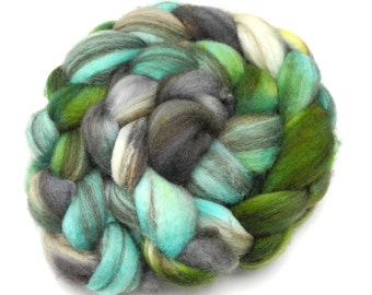 Thunderboom Hand Dye Spinning Fiber - Roving Dyed to Order