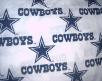 MadieBs Dallas Cowboys NFL  Cotton Fabric Fitted Crib or Toddler Bed Sheet
