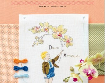 The Language of Flowers  -  Embroidery Pattern Book