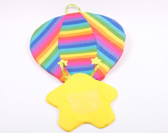 Rainbow Brite Color Pocket Hot Air Balloon Excellent! ~ The Pink Room ~ 161003