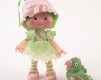 Strawberry Shortcake Lime Chiffon Doll Complete Excellent Shape ~ Pink Room ~ 160910