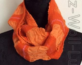 Loop, endlos Schal - orange -