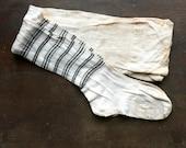 Antique Striped Leg Stockings