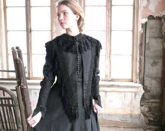Victorian Mourning Mantle