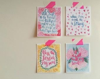 Mini Print Set for Spreading Love! A digital file