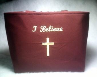 I Believe Bible Bag