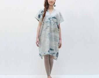 Nani Iro Japanese sewing pattern - tunic dress