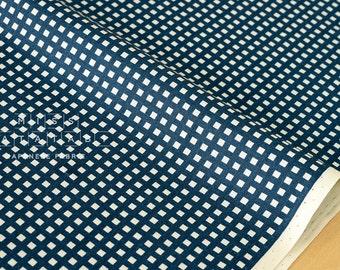 Japanese Kei Fabric Squares - blue - fat quarter