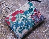 Kimono pouch - Japanese garden