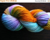 Almost SPRING CLEARANCE TROPICALI Handpainted Yarn Wool  220yds 3.5oz Worsted Weight  Aspenmoonarts Hand Painted