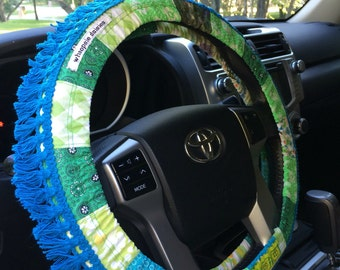 Fringe Hippie Chic Non-Slip Steering Wheel Cover