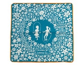 Skipping Girls Coulmbia Road Cushion Cover