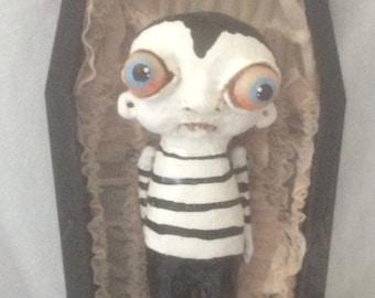 Victor the vampire original art doll