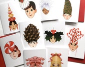 Christmas Hat Cards