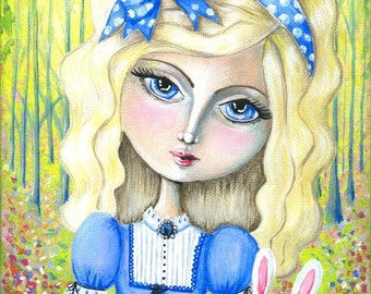 SALE Alice: A4 Reproduction