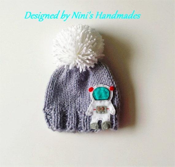 astronaut hat knit - photo #1