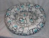 The New Yorkie Fleece Medium Dog Bed