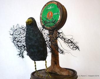 Crow on Lard -  USA Original