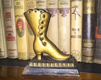Vintage Victorian Metal Boot