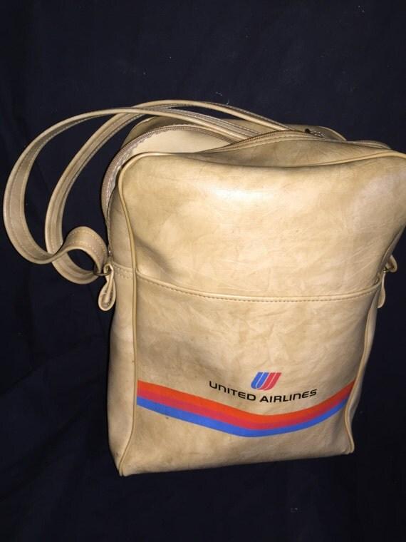 Vintage United Airlines Carry On Bag
