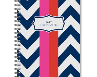2017 Chevron Weekly Planner