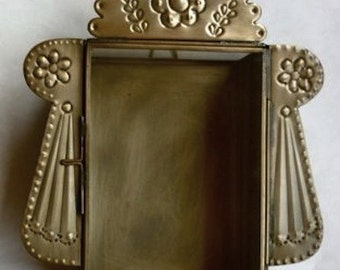 Tin Nicho #44 Traditional Style  Antique Color