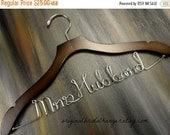SALE 20% OFF Custom Bridal Hangers Personalized Hangers Wedding Dress Hangers Bridal Accessories Wedding Coat Hangers Bride Hangers