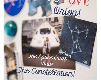 Custom Constellation Magnet Painting