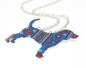 Aztec Beagle Necklace