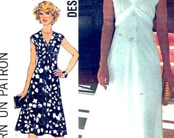 Grecian goddess dress sewing pattern Evening wedding fashion Simplicity 7538 Sz 10 vintage 70s