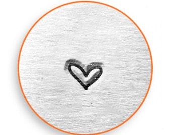 WHIMSY HEART ImpressArt 3mm Metal Stamp