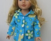 "Clothes for American girl,Journey Girl,Madame Alexander,Battat,Springfield,Gotz,My life 18"" Doll Pajamas"