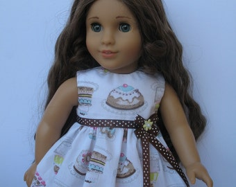 "Clothes for American girl,Journey Girl,Madame Alexander,Battat,Springfield,Gotz,My Life 18"" Doll Dress"