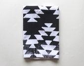 Dinner Party Cloth Napkin Set - Hand Printed Aztec Design Napkins - Entertaining -Reusable Napkins