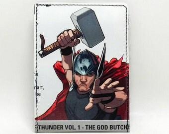 Sewn Comic Book Wallet - Thor