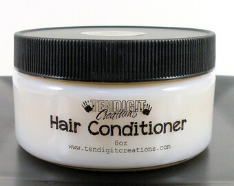 8oz Hair Conditioner (Scents Su - V) - earthy, fruity, floral, bakery, citrus, hippie, berry, woodsy, sweet, fall, winter, summer