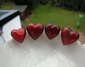 22mm Venetian Murano Glass Heart Bead