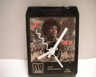 Michael Jackson.......Ben.... 8 Track Tape Clock