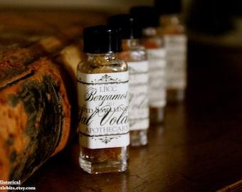 Bergamot Scented Smelling Salts 1811