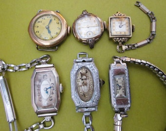 Vintage Watches DeStash for recycling